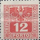 [Numeral Stamps with Eagle, type U5]