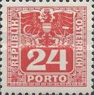 [Numeral Stamps with Eagle, type U7]
