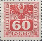 [Numeral Stamps with Eagle, type U9]