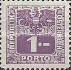 [Numeral Stamps with Eagle, type V]