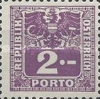 [Numeral Stamps with Eagle, type V1]