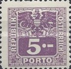 [Numeral Stamps with Eagle, type V2]