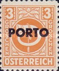 [Austria Postage Stamps of 1945 Overprinted