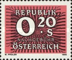 [Numeral Stamps, Typ Z1]