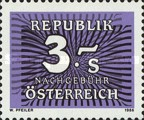 [Numeral Stamps, Typ Z3]