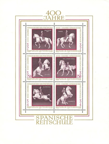 [Horses - The 400th Anniversary of the Spanish Riding School, Typ ]