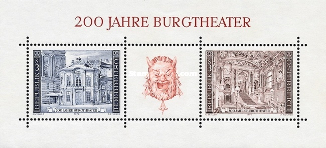 [The 200th Anniversary of the Burgtheater, Typ ]