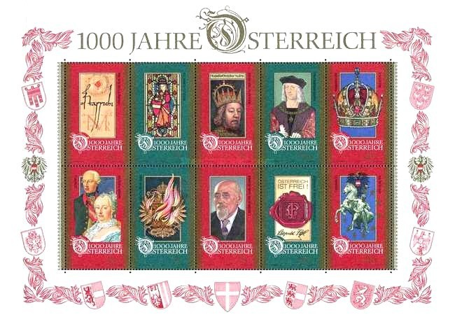 [The 1000th Anniversary of Osterreich, Typ ]