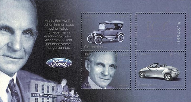 [The 100th Anniversary of Ford Cars, Typ ]