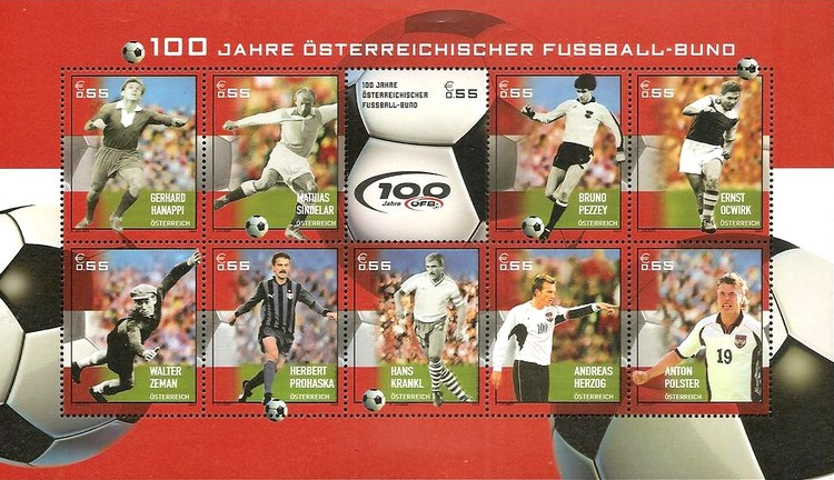 [The 100th Anniversary of the Austrian Football Federation, Typ ]