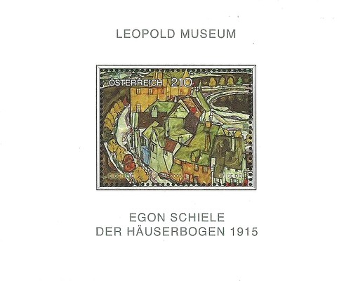 [Famous Paintings of Austrian Collections - Egon Schiele - Row of Houses, Typ ]