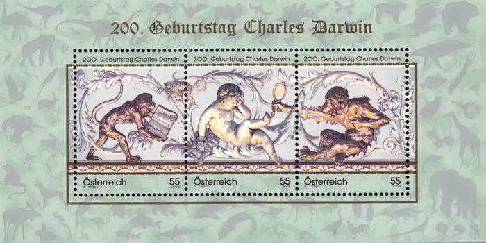 [The 200th Anniversary of the Birth of Charles Darwin, Typ ]