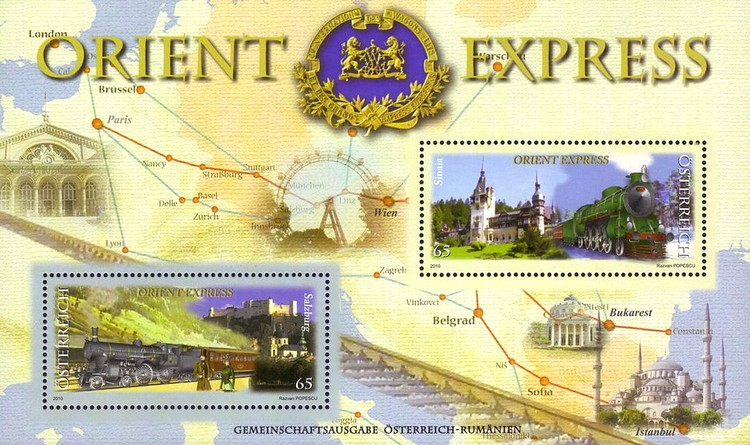 [Joint Issue with Romania - Orient Express, Typ ]