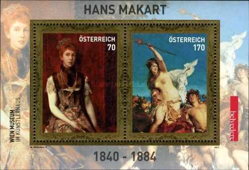 [Paintings by Hans Makart, 1840-1884, Typ ]