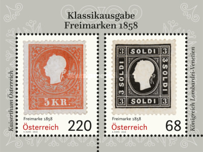 [Classic Postage Stamps - 1858, Typ ]