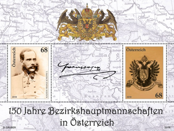 [The 150th Anniversary of the Bezirkshauptmannschaften - District Commissions, Typ ]