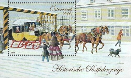 [Historical Postal Vehicles - The Mariahilf Line, type ]