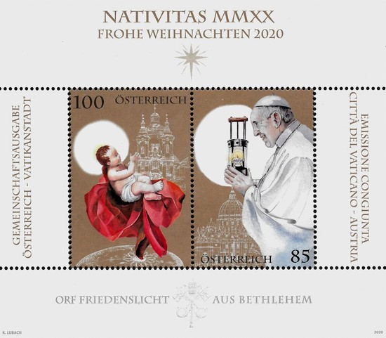 [Christmas - Joint Issue with the Vatican City, type ]