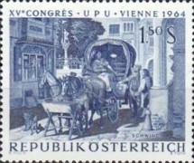 [The 15th Congress of the Universal Postal Union Vienna 1964, Typ AAH]
