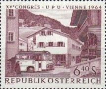 [The 15th Congress of the Universal Postal Union Vienna 1964, Typ AAM]