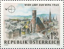 [Vienna Invites for WIPA 1965, Typ AAN]