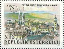 [Vienna Invites for WIPA 1965, Typ AAO]