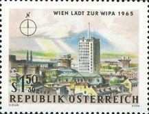 [Vienna Invites for WIPA 1965, Typ AAP]