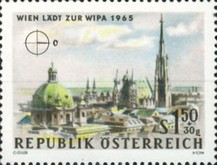 [Vienna Invites for WIPA 1965, Typ AAR]