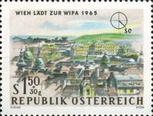 [Vienna Invites for WIPA 1965, Typ AAS]