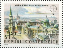 [Vienna Invites for WIPA 1965, Typ AAT]