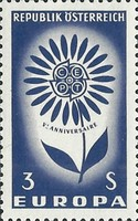 [EUROPA Stamps, Typ AAW]