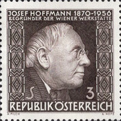 [The 10th Anniversary of the Death of Josef Hoffmann, Typ ACC]