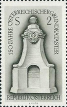 [The 150th Anniversary of the Austrian Land Cadastre, Typ ADV]
