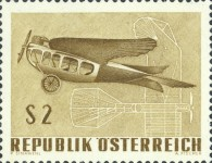 [Airplanes - International Airmail Exhibition (IFA) Vienna 1968, Typ AEH]
