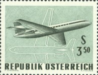 [Airplanes - International Airmail Exhibition (IFA) Vienna 1968, Typ AEI]