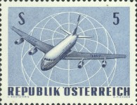 [Airplanes - International Airmail Exhibition (IFA) Vienna 1968, Typ AEJ]