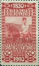 [The 80th Anniversary of the Birth of Emperor Franz Josef, type AF1]