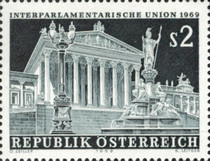 [The 1969 Spring Conference of the Inter-Parliamentary Union in Vienna, Typ AFJ]