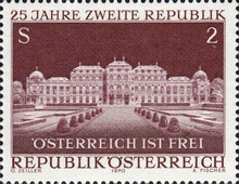 [The 25th Anniversary of the Second Republic of Austria, type AGI]