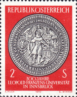 [The 300th Anniversary of Leopold Franzens University in Innsbruck, type AGL]