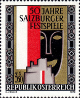 [The 50th Anniversary of the Salzburg Festivals, type AGU]