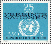 [The 25th Anniversary of the United Nations, type AHG]