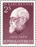 [The 100th Anniversary of the Birth of Dr. Karl Renner, type AHK]