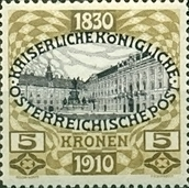 [The 80th Anniversary of the Birth of Emperor Franz Josef, type AI1]