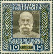 [The 60th Anniversary of the Reign of Emperor Franz Josef I, type AJ]