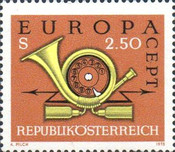 [EUROPA Stamps, Typ AJS]