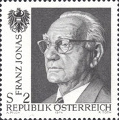 [In Honor of the Late Federal President Dr. H.C. Franz Jonas (1899-1974), Typ ALH]