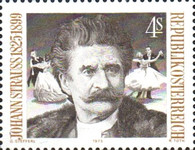 [The 150th Anniversary of the Birth of Johann Strauss Sohn, Typ AMT]