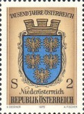 [The 1000th Anniversary of Austria 976-1976, Typ ANW]