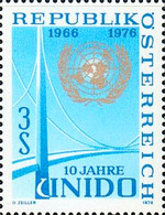 [The 10th Anniversary of the United Nations Industrial Development Organization (UNIDO), Typ AOG]